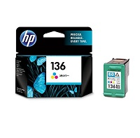 HP136(C9361HJ)純正3色インクカートリッジ