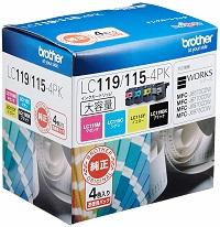 LC119/115-4PK純正