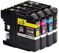 LC217/215-4PKリサイクルインク(ジット製)