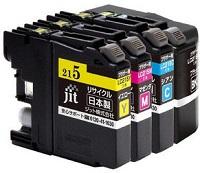 LC219/215-4PKリサイクルインク(ジット製)